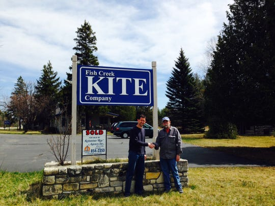 Fish Creek Kite Co. owner Toby Schlick recently retired and sold the property to Glide N.E.W. LLC owner Nick Dokolas.