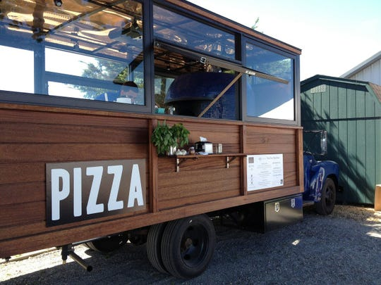 "Dean Medico's ""pizza mobile"" will bring food and alcohol to you."