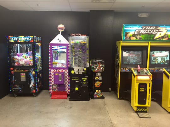 Men Wielding Fire in Midtown Reno is more than just a restaurant. It also has an arcade.