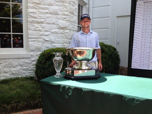 State Amateur champion Will Cannon
