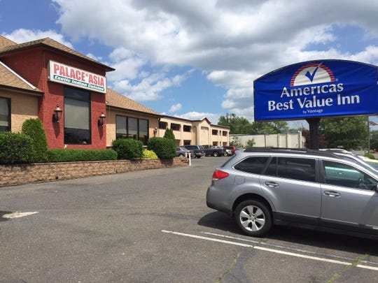 The current site of America's Best Value Inn, between Route 70 and Cooper River Park in Cherry Hill, could be redeveloped into an apartment complex under the proposed settlement of a lawsuit that would also preserve Woodcrest Country Club.