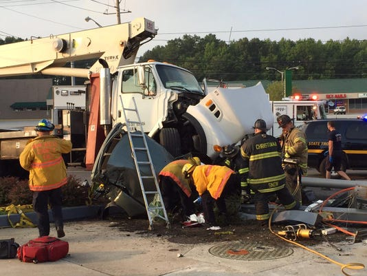 Airport road crash 1