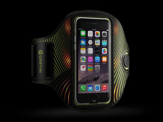 The LightRunner Universal Armband can enhance your visibility when you exercise at night.