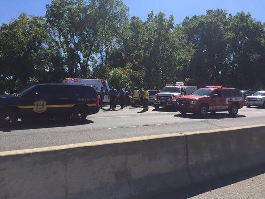 Pedestrian hit on I-95