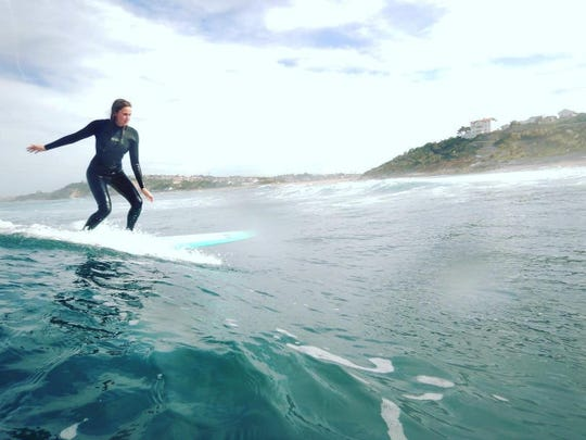 Girls Wave Riding Camp is an all-girls surf lesson camp.