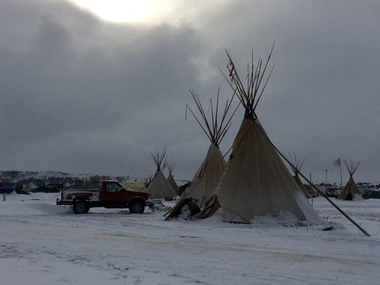 Oceti Sakowin and several other satellite camps sit on Federal lands that legally belong to the Standing Rock Sioux under the terms of an 1851 treaty.