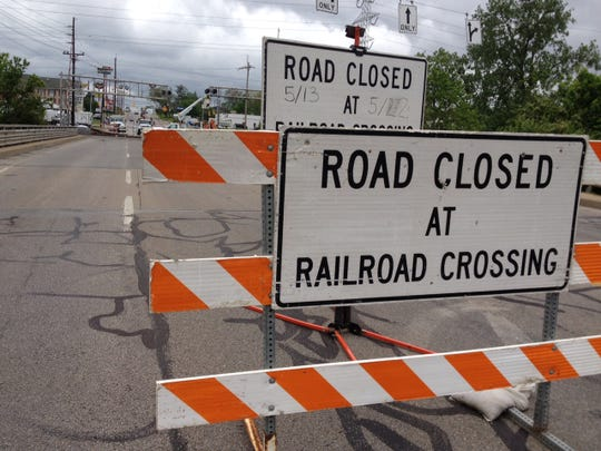 A railroad crossing (stock)