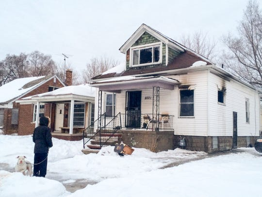 According to the Detroit Fire Department, the incident occurred shortly before 5 a.m. in the 8200 of Lyford near City Airport.