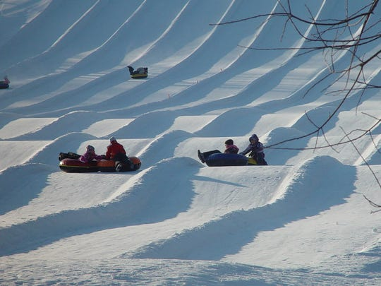 Sunburst Ski Area is located north of West Bend in Kewaskum and offers tubing and skiing.