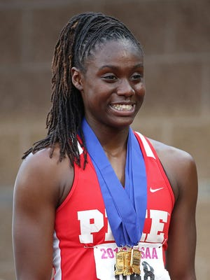 FILE – Lynna Irby won here 22nd national title on Sunday.