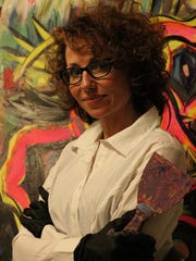 "Tiffany Figueroa will teach ""Abstract Painting with"