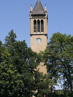 Iowa State University's Campanile.