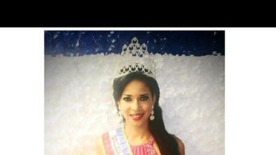 Dominican pageant queen Madelyn Ferreyra.