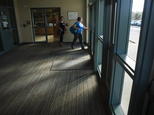 Wilson Elementary entryway