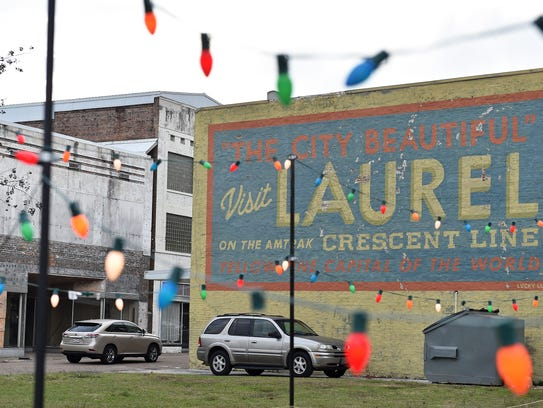 Much of Laurel's downtown area has been renovated and