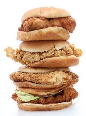 Reviewers tasted chicken sandwiches from Chick-Fil-A, McDonald's, KFC and Wendy's.