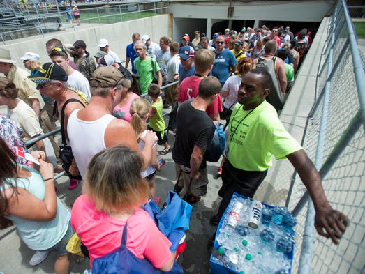 Fans Find A Community Experience At Brickyard 400