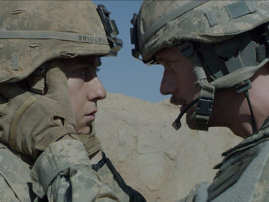 """Natt Wolff, left, and Alexander Skarsgard in """"The Kill Team."""""""
