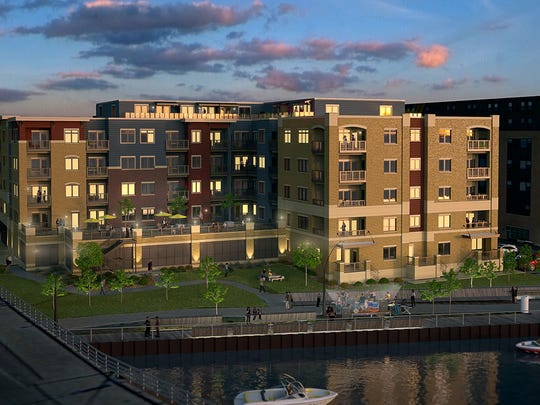 Rendering of CityDeck Landing Apartments