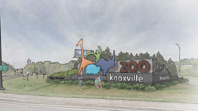 The Knoxville City Council approved a resolution allowing the city to enter an agreement with the state (Tennessee Department of Transportation) to construct the sign on the corner of Knoxville Zoo Drive and Rutledge Pike at the Dec. 20 Knoxville City Council meeting.