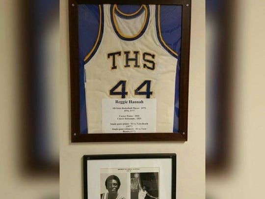Titusville basketball legend Reggie Hannah passed away at the age of 56.