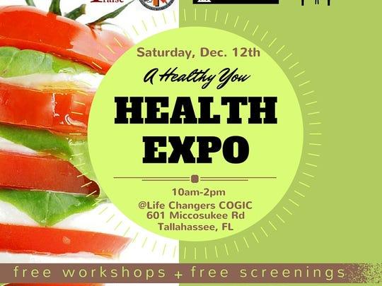 2015 health expo flyer
