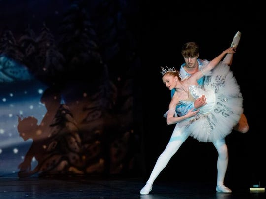 Ruidoso local Ariana McLeod recently performed with the Moscow Ballet in The Great Russian Nutcracker in El Paso.