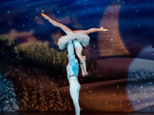 "A\n accomplished dancer, Ariana McLeod performed the roles of Snow Queen, Marzipan Waltz of the Flowers and as a parent in the party Scene of  a local production of ""The Nutcracker."""