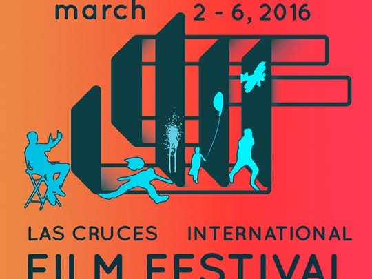 Derek Fisher designed the Las Cruces International Film Festival logo and Facebook page and helped create a website for the festival.