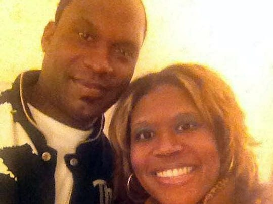 Kenric Jerome Castille pictured with his sister Kendalin Castille
