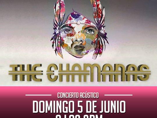 'The Chamanas' ha extendido en redes sociales la invitación al concierto acústico que se llevará a cabo el próximo domingo 5 de Junio en el CocoBar, ubicado en el 1515 Lee Treviño Drive, a partir de las 3 de la tarde.