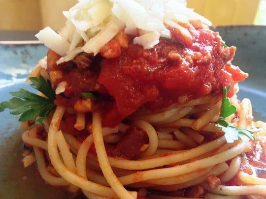 Barbatella's Spaghetti Amatriciana