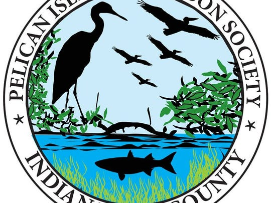 Pelican Island Audubon Society logo.