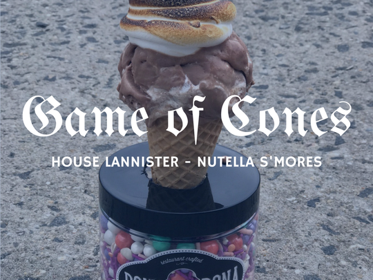 Bona Bona Ice Cream has kicked off a 'Game of Cones'