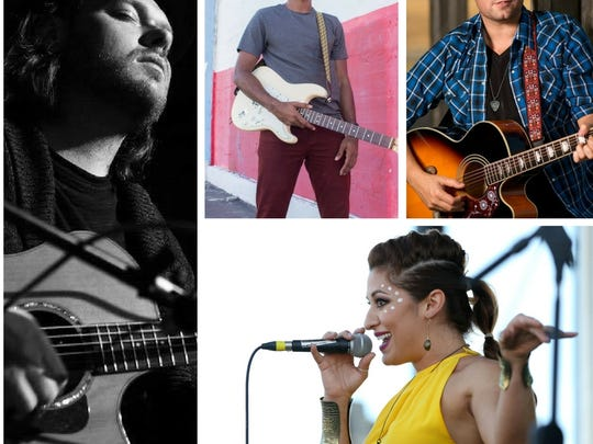 "Corpus Christi Songwriters ""In the Rounds"" show on Sunday Sept. 10 will feature Clarissa Serna, Jimmy Wilden, Adrian Tello, Steven James and others. The show will benefit the Rockport Center for the arts."