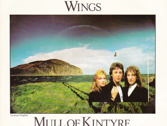 "Denny Laine and Paul McCartney co-wrote ""Mull of Kintyre,"""