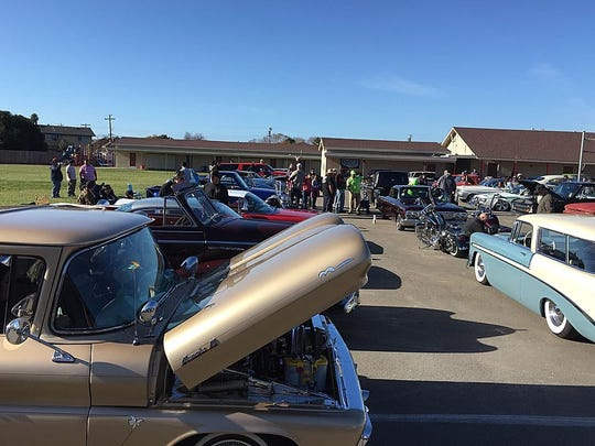 More than 1,000 toys were collected and more than 100 custom cars were on display at the inaugral Salinas Cars for Kids Car Show and Toy Drive.