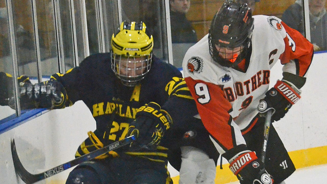 Josh Albring of Hartland and Adam Conquest of Brighton are two of the favorites to win Mr. Hockey entering the 2017-18 season. Brighton's Jake Crespi won the award last season.