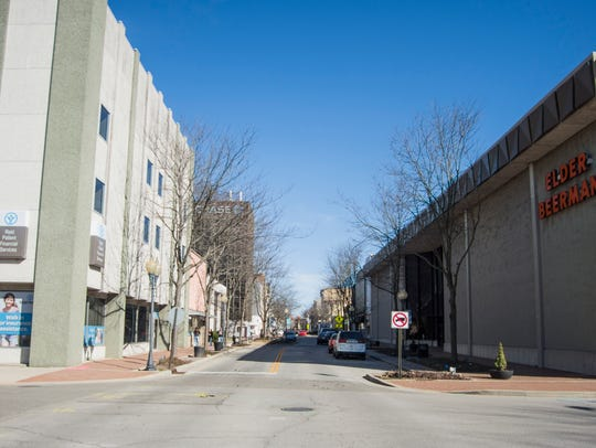 The 600 block of East Main Street, including Richmond's