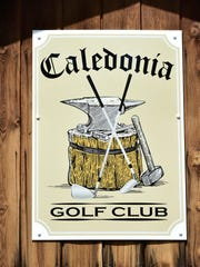 A new sign and logo is seen on Thuesday, June 30, 2016. The Caledonia Golf Club is under new management.
