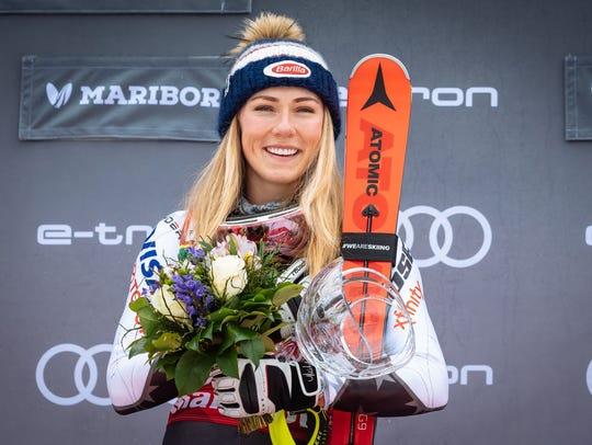 Opinion: Ski champ Mikaela Shiffrin's ferocity isn't always on display, but it's there