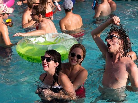 Splash House Pool Party at The Saguaro