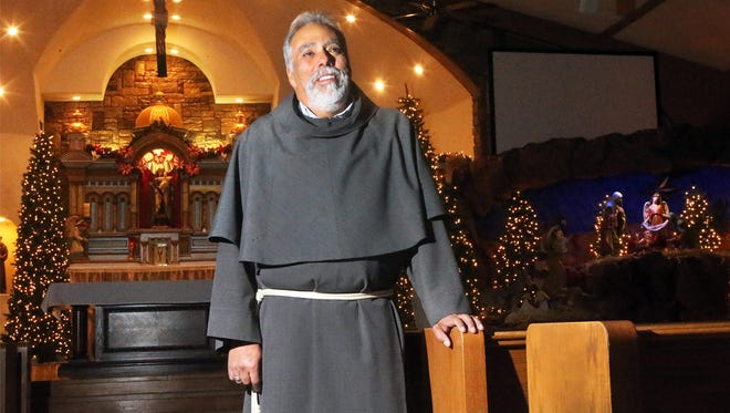 The Rev. Miguel Briseño will hold Christmas Eve midnight Mass at Our Lady of Mount Carmel Catholic Church at 131 S. Zaragoza Road.