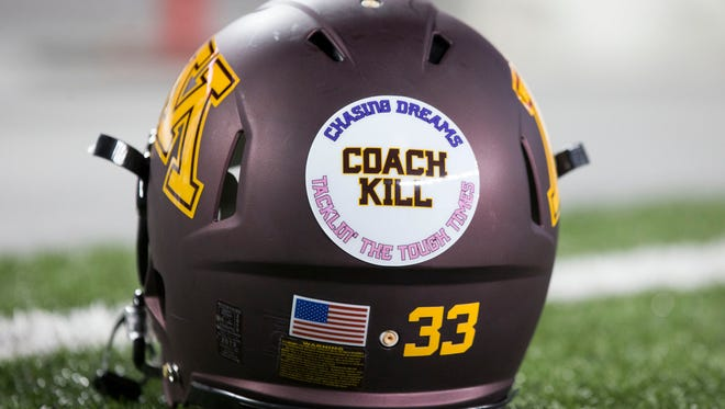 Minnesota's Jerry Kill resigned for healthy reasons on Oct. 28.