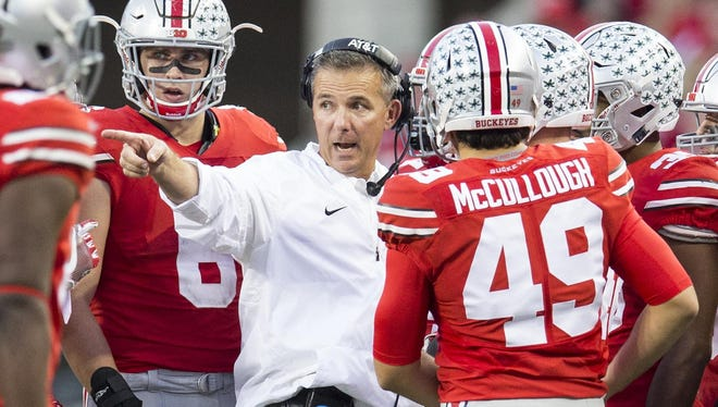 Ohio State football coach Urban Meyer will be the featured speaker at the sixth annual Team Focus dinner in Columbus. Team Focus is an organization to support fatherless boys founded by former major college coach/ESPN analyst Mike Gottfried and his wife Mickey. Both are Crestline natives.