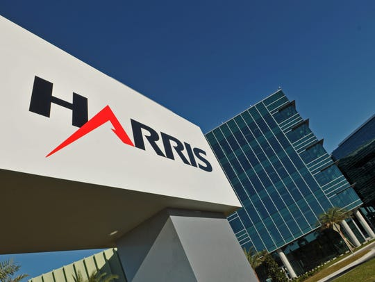 Harris Corp.'s headquarters in Melbourne.