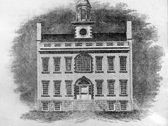 The second courthouse for Broome County was used until