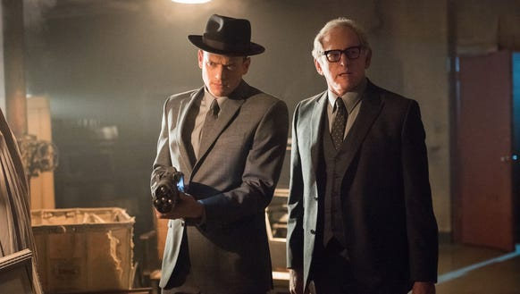 Legends of Tomorrow with Wentworth Miller (L).
