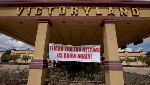 VictoryLand in Shorter, Ala., on Tuesday September