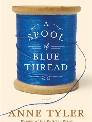 """This book cover image released by Alfred A. Knopf shows """"A Spool of Blue Thread,"""" by Anne Tyler. (AP Photo/Alfred A. Knopf)"""